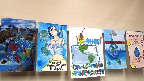 """Revisan material """"Mi campaña para cuidar el agua"""" de alumnos de ..."""