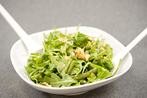 String Bean & Arugula Salad Keywords: Food, Recipe, Vegetarian, Vegan