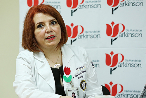 Dra. Ingrid Estrada Bellmann, coordinadora actual del Grupo de Estudio de Movimientos Anormales de la Academia Mexicana de Neurología.