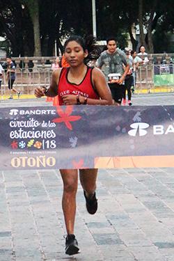 1a.10K Femenil Sara Ramírez